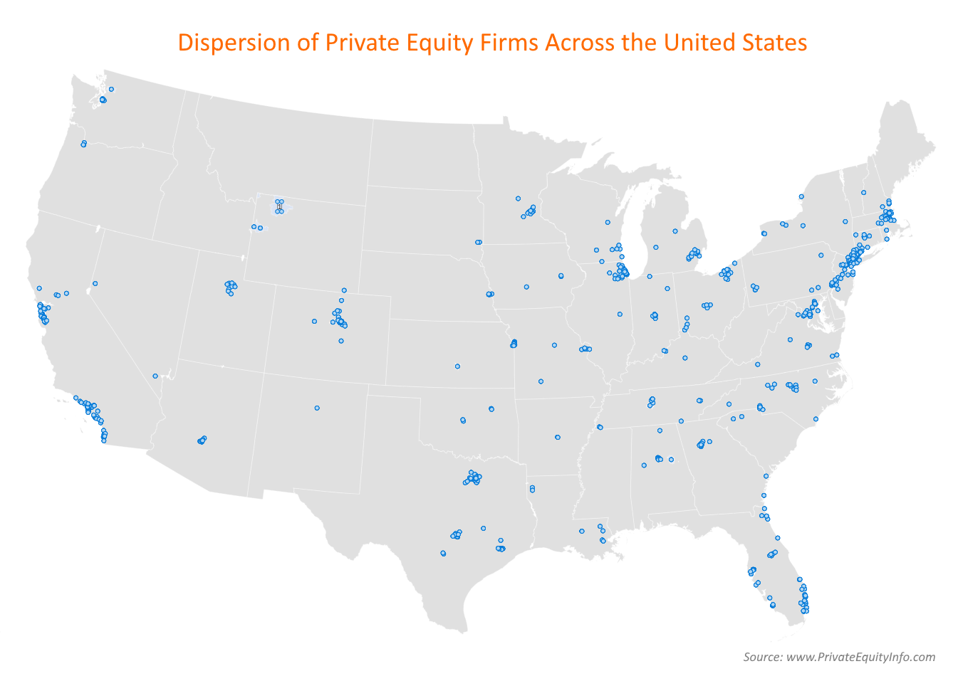 Private Equity Firms - U.S. Locations